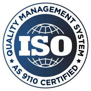 ISO AS 9110 Certified